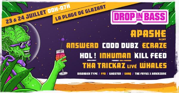 DROP IN BASS is back !   Open Air