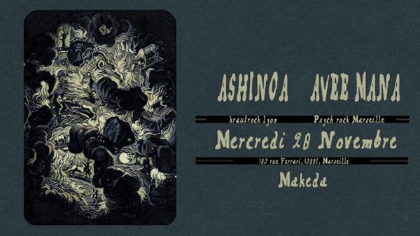 Ashinoa & Avee Mana au Makeda