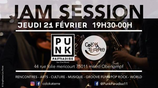 Jam session // groove funk pop rock reggae #world - ColoKaTerre |