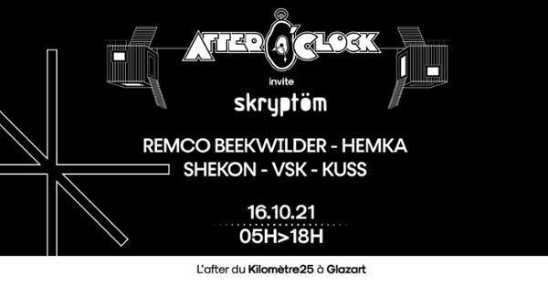 After O'Clock invite Skryptöm