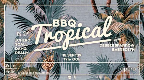 BBQ Tropical de la rentrée avec Ichiro, Debbie Sparrow & more