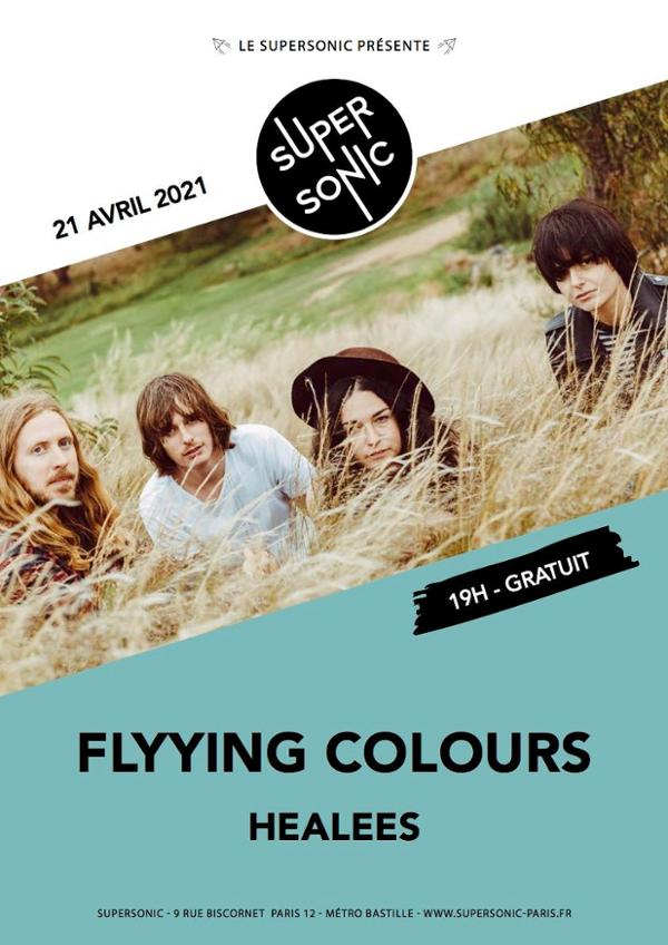 Flyying Colours • Healees / Supersonic