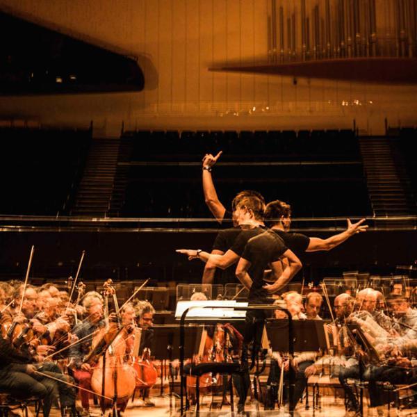 Orchestre de Paris - Philip Glass / Steve Reich   Days Off 2020
