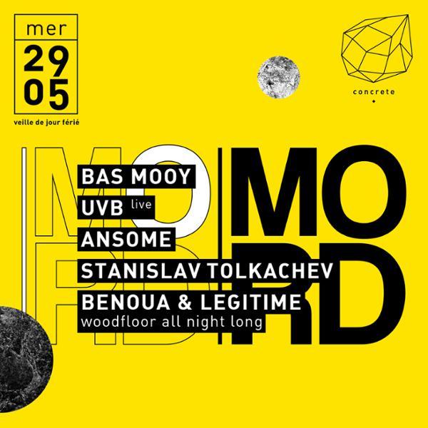 Concrete x MORD: Bas Mooy, UVB, Ansome, Stanislav Tolkachev