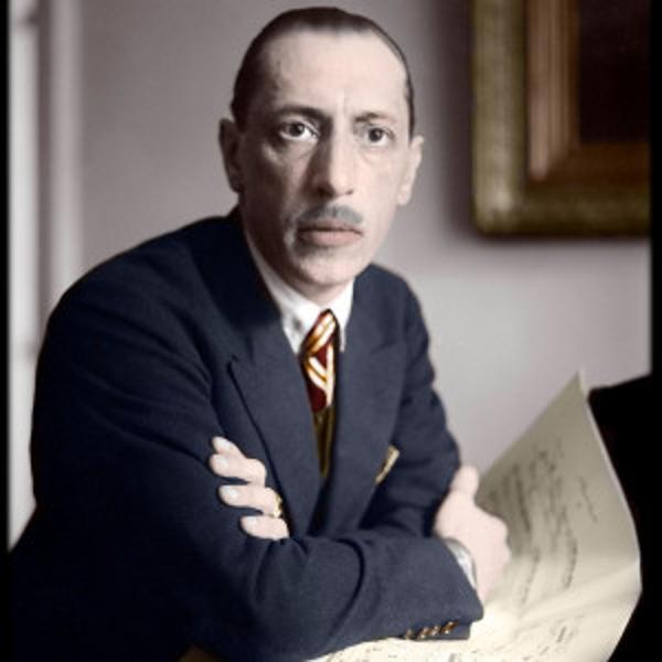 Portrait Igor Stravinski / Passeports d'un exilé (2)