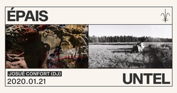 Untel et Epais • Josué Confort (Dj)