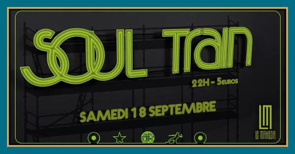 Soul Train : Selecter The Punisher invite DJ Duff