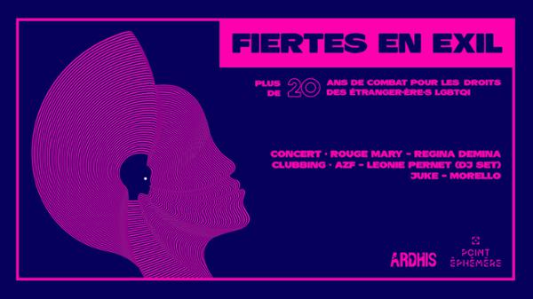 FIERTÉS EN EXIL #2 - concert de soutien ARDHIS