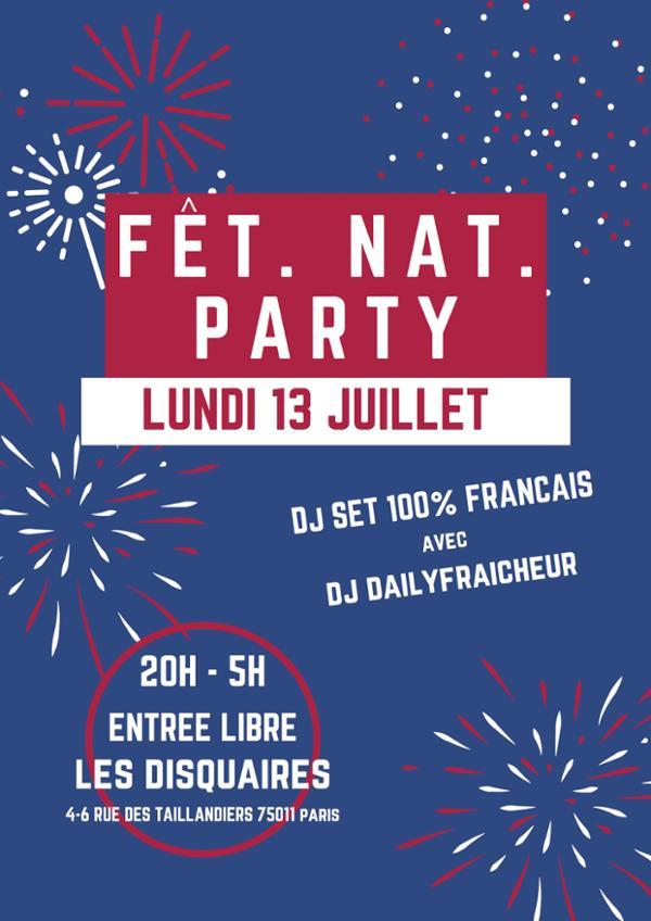 Fêt. Nat. Party