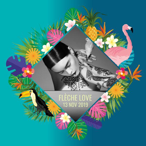 Flèche Love / Isaya / Siêm Folknomade / Festival Meltin'art 2019