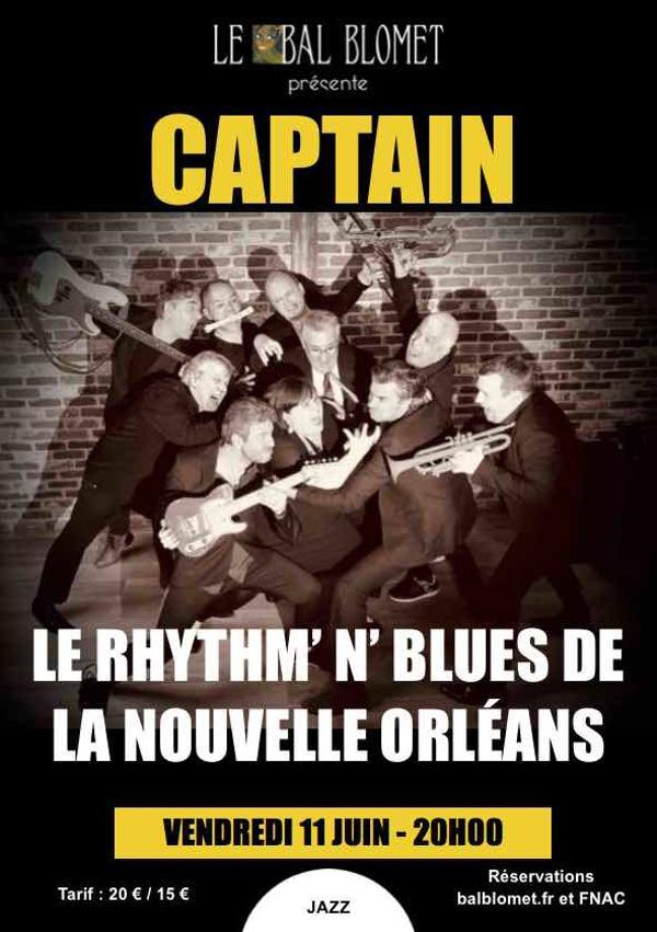 CAPTAIN – LE RHYTHM' N' BLUES DE LA NOUVELLE ORLÉANS ***COMPLET ***
