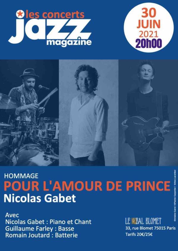 POUR L'AMOUR DE PRINCE – Les Jeudis JAZZ MAGAZINE