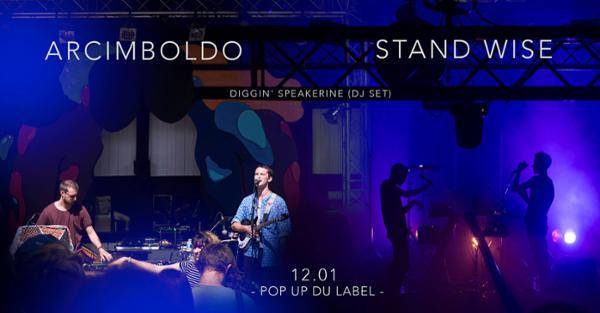 Arcimboldo & Stand Wise // 12.01.19 // Popup!