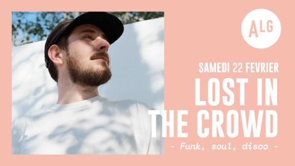 Lost in the crowd (funk soul disco)