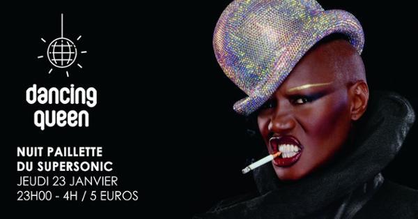 Dancing Queen #12 / Nuit Disco Paillette du Supersonic