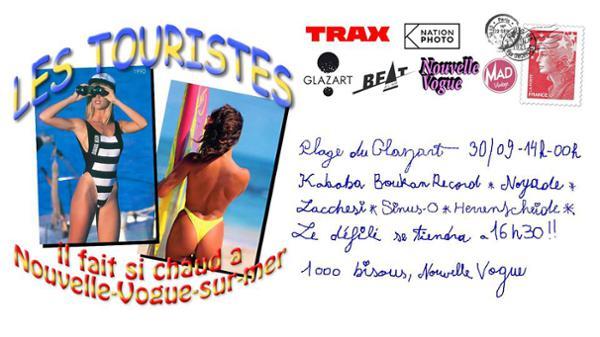 Le défilé des Touristes by Nouvelle Vogue Magazine