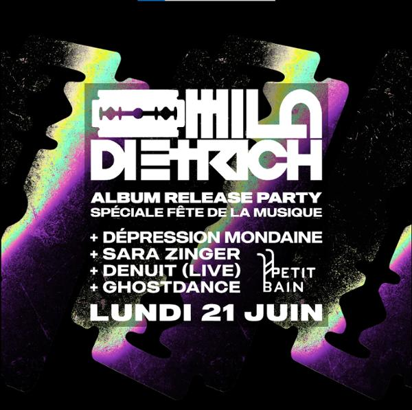 Release party Mila Dietrich