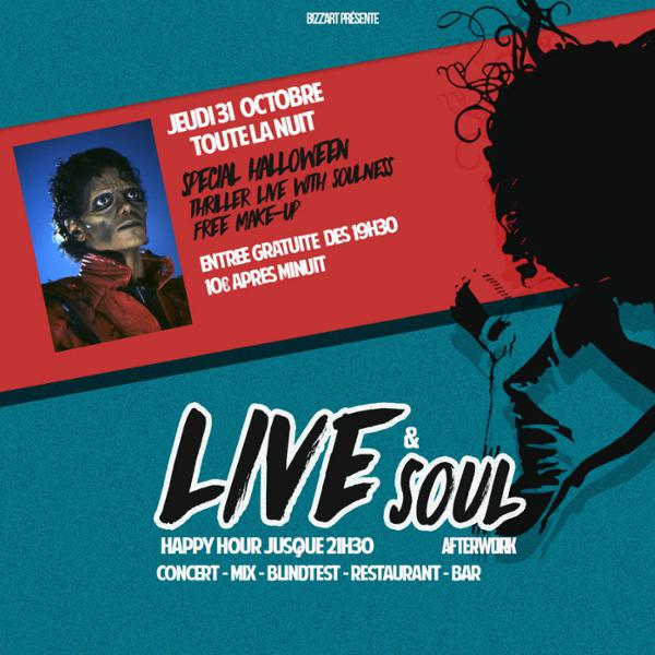 LIVE & SOUL HALLOWEEN NIGHT