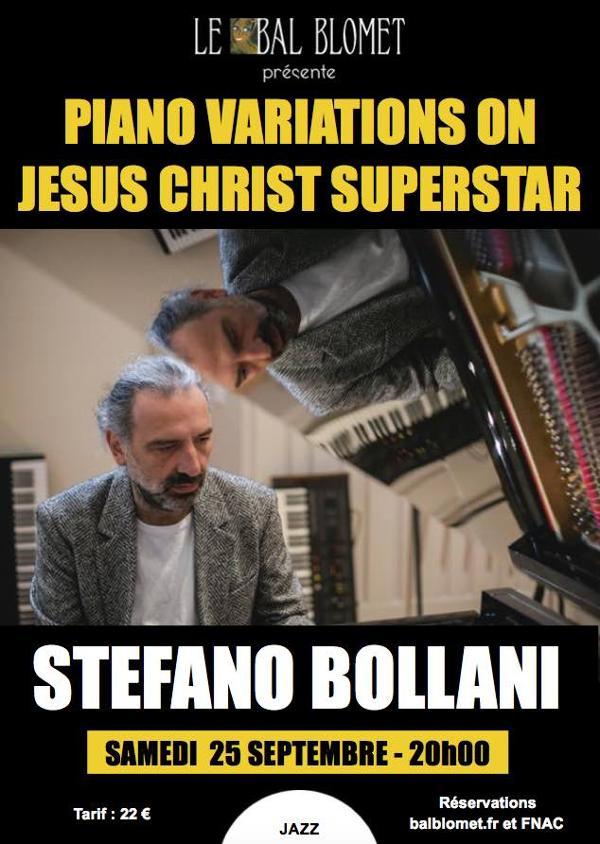 STEFANO BOLLANI – VARIATIONS SUR JESUS CHRIST SUPERSTAR