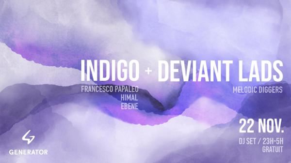 Indigo invite Deviant Lads - Generator